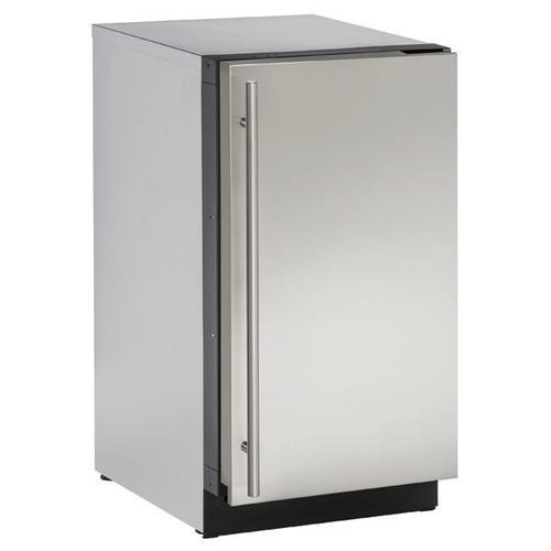 "18"" Refrigerator With Stainless Solid Finish (115 V/60 Hz Volts /60 Hz Hz)"