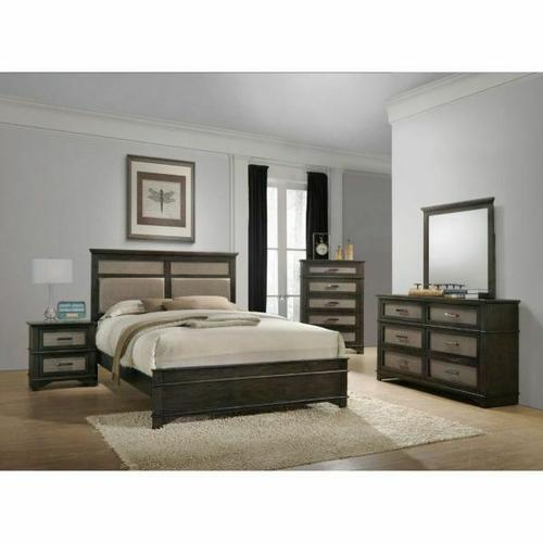 ACME Anatole Nightstand - 26283 - Dark Walnut