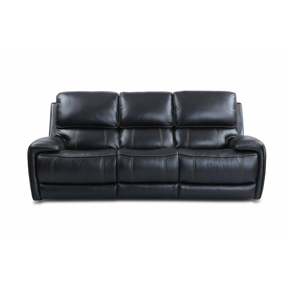 Product Image - EMPIRE - VERONA BLACKBERRY Power Sofa