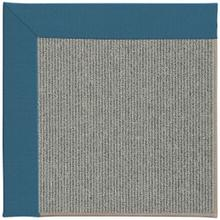 "Creative Concepts Plat Sisal Spectrum Peacock - Rectangle - 24"" x 36"""