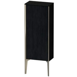 Duravit - Semi-tall Cabinet Floorstanding, Black Oak