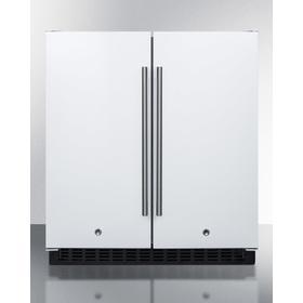 "30"" Wide Built-in Refrigerator-freezer"