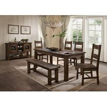 Emeline 5PC Dining Set (T+4S)