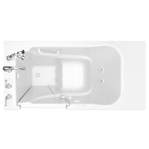 Gelcoat Value Series 30x52-inch Walk-in Tub with Whirlpool System  American Standard - White