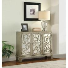 ACME Bailea Console Table, Silver Gray - 90115