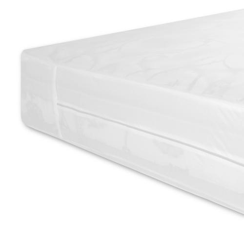 Sleep Calm Easy Zip Expandable Mattress Encasement with Stain and Dust Mite Defense, Split California King