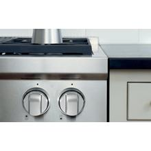 Sealed Burner Rangetop with Wok Stainless Knobs