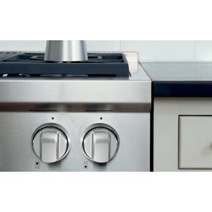 "Wolf 30"" Stainless Steel Knobs"