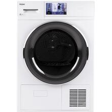 """See Details - 4.1 cu.ft. Capacity Smart 24"""" Ventless Condenser Frontload Electric Dryer with Stainless Steel Basket"""