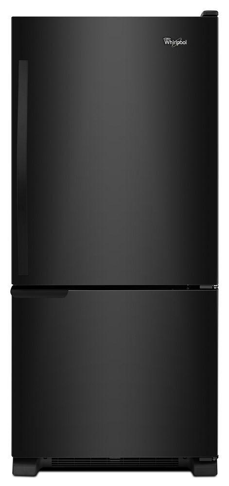 Whirlpool30-Inches Wide Bottom-Freezer Refrigerator With Accu-Chill™ System - 18.7 Cu. Ft.