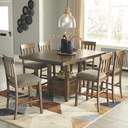 Ralene - Medium White 5 Piece Dining Room Set