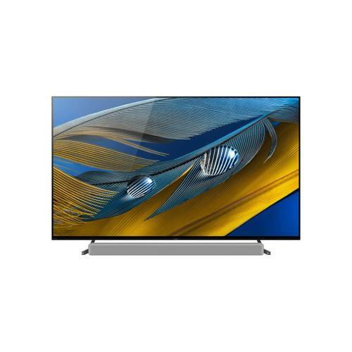 Sony - BRAVIA XR A80J 4K HDR OLED with Smart Google TV (2021) - 55''