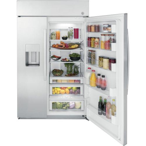 """GE Appliances - GE Profile™ Series 48"""" Smart Built-In Side-by-Side Refrigerator with Dispenser"""