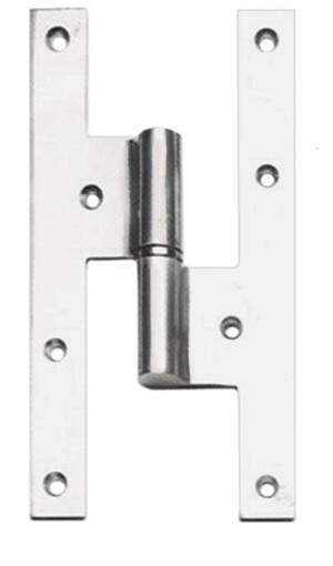 While supplies last! Please choose carefully, as all sales on these items are final. Please read Outlet Terms & Conditions and Privacy Policy . Right-Handed H Hinge in (H Hinge - Solid Brass) Product Image