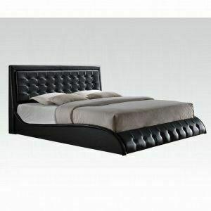 ACME Tirrel Eastern King Bed - 20657EK_KIT - Black PU