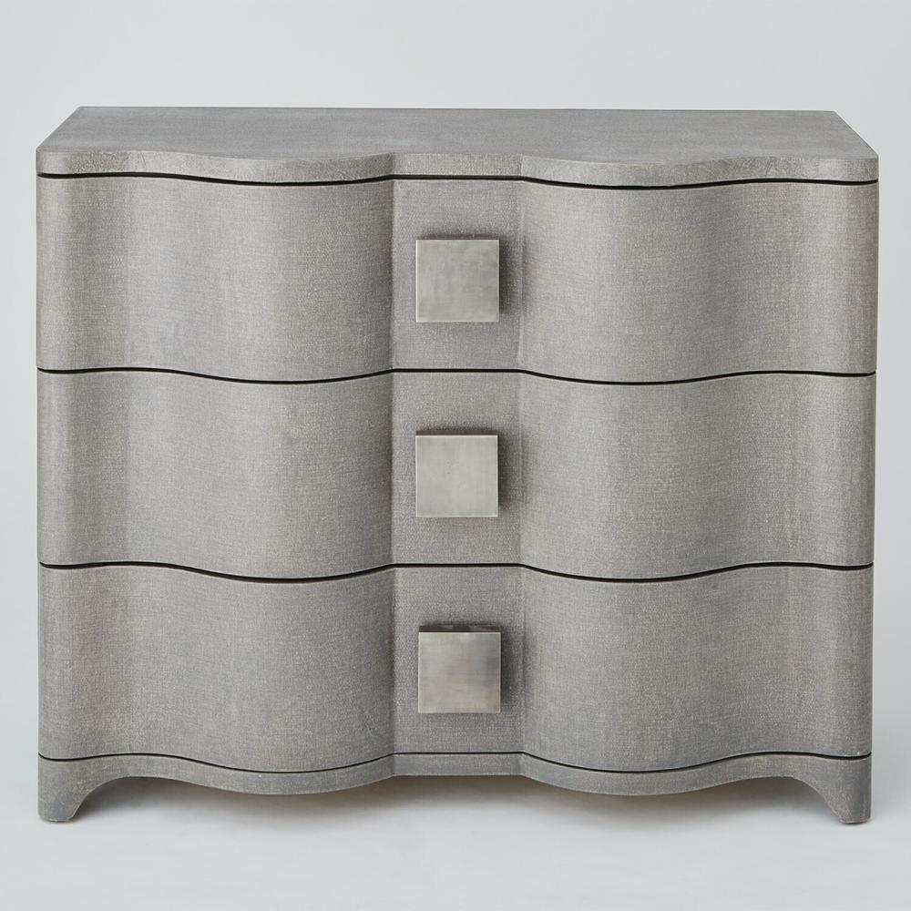 See Details - Toile Linen Chest-Grey