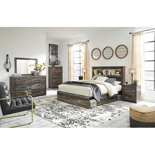 Drystan - Multi 3 Piece Bed (Queen)