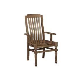 Arm Chair - Wooden Seat