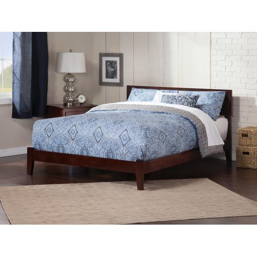 Orlando Queen Bed in Walnut