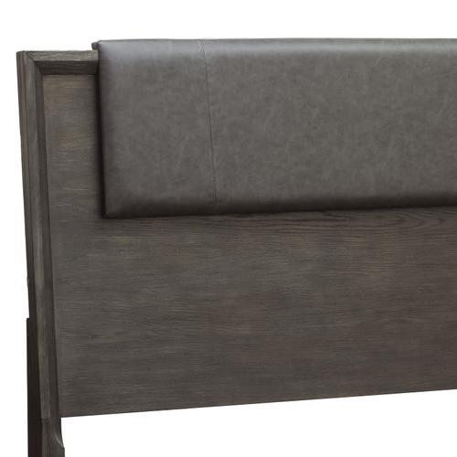 Java 6/6-King Headboard in Gray