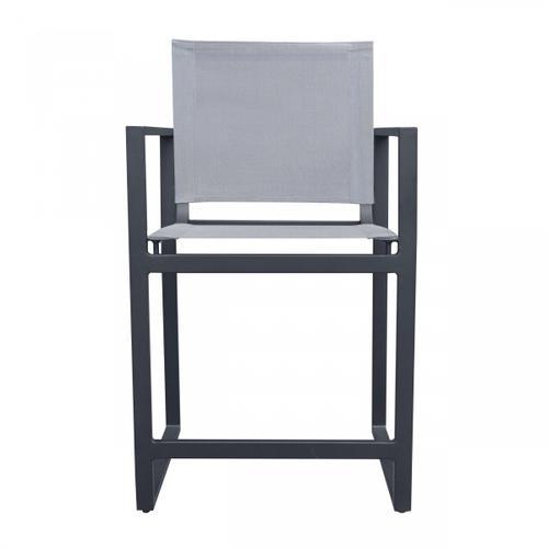 VIG Furniture - Renava Kayak - Modern Dark Charcoal Outdoor Counter Stool