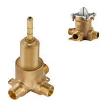 Unfinished 2-Port 3-Way Diverter Valve