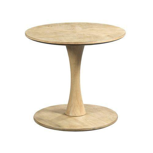 Oblique Round Side Table