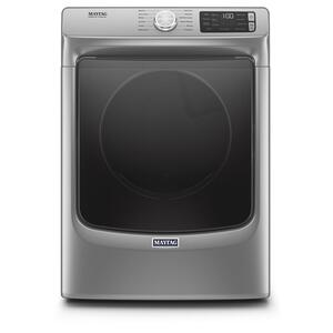 Front Load Electric Dryer with Extra Power and Quick Dry Cycle - 7.3 cu. ft. - METALLIC SLATE