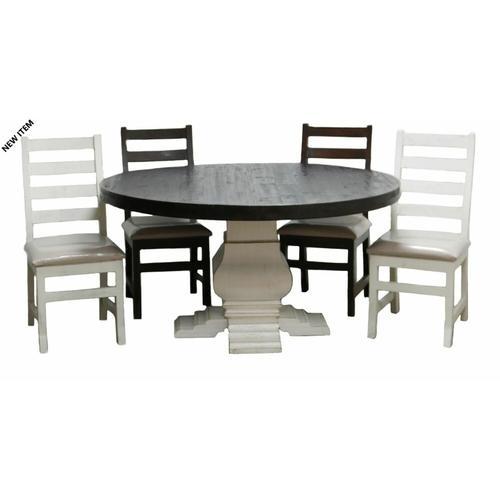 Million Dollar Rustic - 5 Ft Round Table
