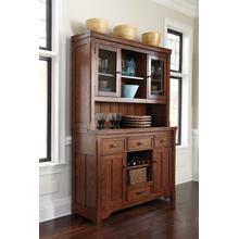 See Details - Chimerin - Medium Brown D599/80/81 2 Piece Dining Room Set