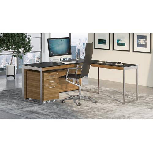 BDI Furniture - Sequel 20 6112 Return in Walnut Satin Nickel