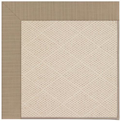 "Creative Concepts-White Wicker Dupione Sand - Rectangle - 24"" x 36"""