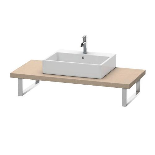 Console For Above-counter Basin And Vanity Basin, Linen (decor)
