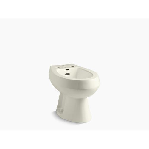Biscuit Vertical Spray Bidet With 4 Faucet Holes