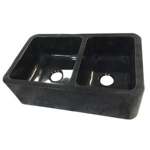 "Aubrey Double Bowl Reversible Granite Farmer Sink - 36"" Product Image"