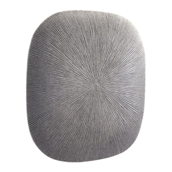 See Details - Medium Square Granite Plaque Light Gray