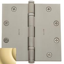 View Product - Non-Lacquered Brass Ball Bearing Hinge