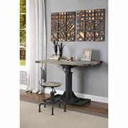 ACME Baara Desk - 22045 - Natural & Sandy Gray Product Image
