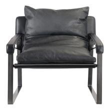 Connor Club Chair Black