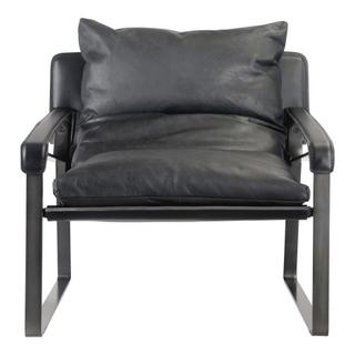 Connor Club Chair Black