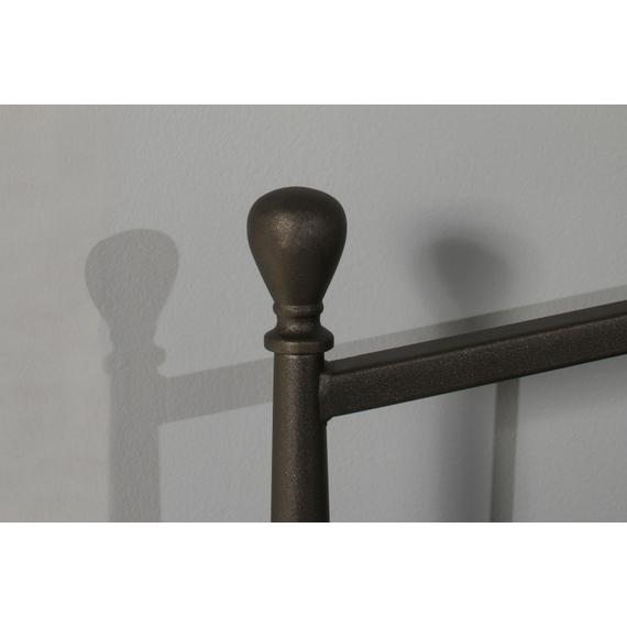 Warwick Queen Metal Headboard and Footboard (gray Bronze)