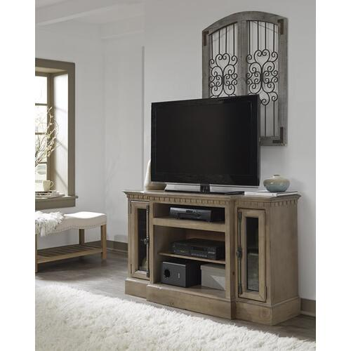 54 Inch Console - Antique Mist Finish