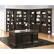 View Product - WASHINGTON HEIGHTS 15pc Library Wall Desk