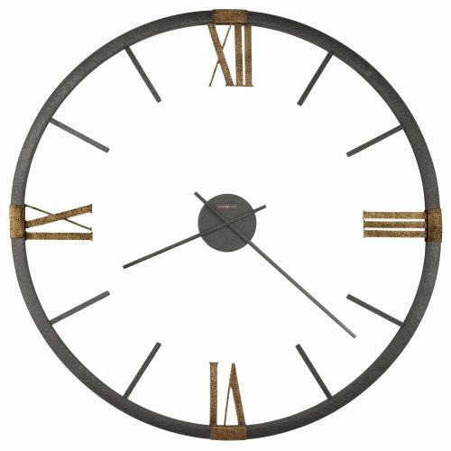 Howard Miller Prospect Park Metal Oversized Wall Clock 625570