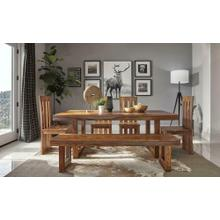 Paloma II Table, Bench & 4 Chairs