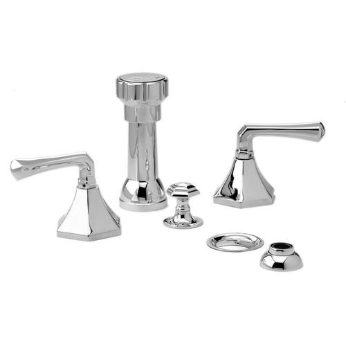 LA VERRE & LA CROSSE Four Hole Bidet Set K4170 - Burnished Nickel