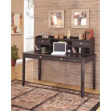 Carlyle - Black 2 Piece Home Office Set