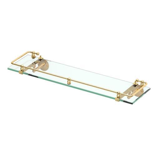 Premier Railing Shelf #1 in Satin Nickel