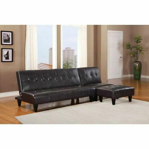 ACME Conrad Adjustable Sofa - 05638 - Espresso PU