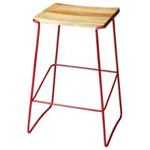 This stationary bar stool has a contemporary design and are perfect for the individual who wants style and reliability at an affordable price. Perfect for a cafe, restaurant, or office, this stool will look great wherever you decide to put it. This bar st